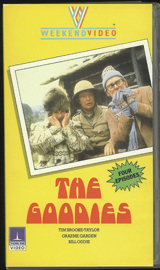 The Vcr From Heck Fifty Cartoons Week Tuesday 50: The Goodies Illustrated Guide Goodies DVDs